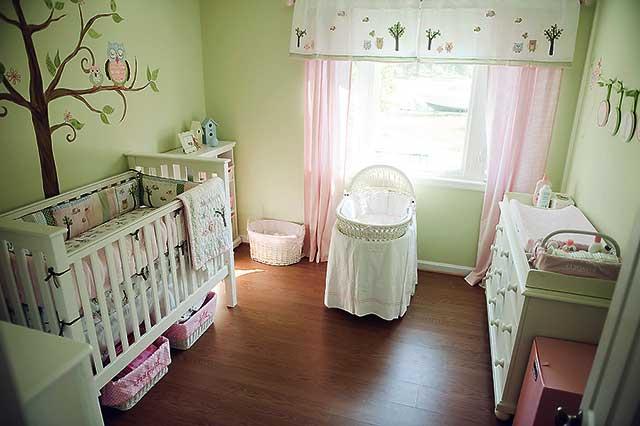 Кімната новородженого - фото