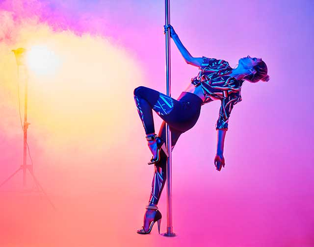 Pole-dance - а полезен ли он?